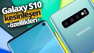 1.600 Euro'luk Samsung Galaxy S10'un kesinleşen müthiş özellikleri!