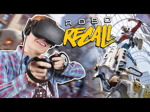 ACTION-PACKED ARCADE SHOOTER! | Robo Recall VR (Oculus Touch