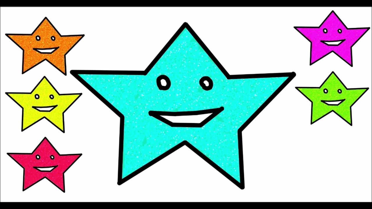Simli Yıldız Boyama Silvery Star Painting Youtube