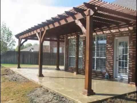 Patio cover designs ideas - YouTube on Backyard Patio Cover Ideas  id=17709