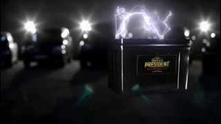 видео Аккумулятор автомобильный Super President 95D26L, кальциевый (Ca/Ca) премиум-аккумулятор из Южной Кореи. Купить аккумулятор Супер Президент с доставкой