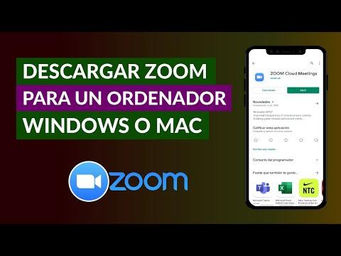 Cómo Descargar Zoom para el Ordenador o PC Windows o Mac