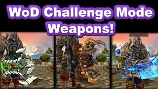 WoD Challenge Mode Gear ~ Indepth Look ~ Warlords of Draenor WoW World of Warcraft