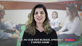 KIDS THREE SOLTANTO A LÍNGUA!