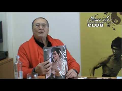 Riccardo Billi habla sobre Bruce Lee Manía y manda un saludo al European Bruce Lee Club.