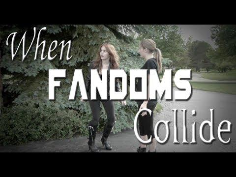When Fandoms Collide Ep. 1 | Clary & Tris - YouTube  Fandoms Collide