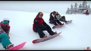 Школа сноуборда | Сезон 10 урок 4 | Бэксайд-укладки на заднем канту