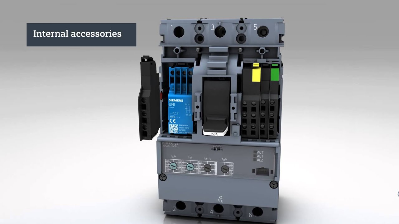 Siemens Molded Case Circuit Breaker Manual Wiring Diagram Services Gfci The New 3va Youtube Rh Com