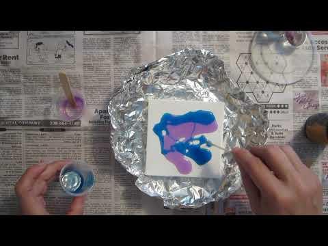 46~ A UV resin clean pour