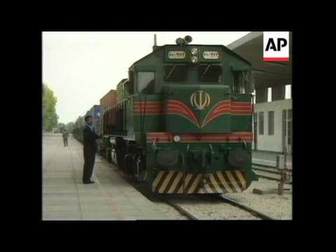 IRAN: CHINA/EUROPE RAIL LINK OFFICIALLY OPENED