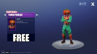 Fortnite Battle Royale - HOW TO GET FREE TOMATOHEAD OUTFIT!