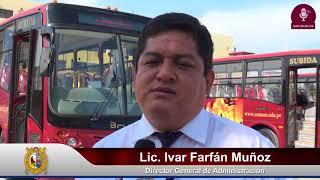Tema:Nueva flota de buses de transporte externo