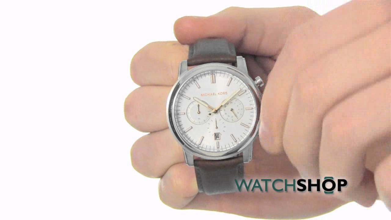 9942c667ccd7 Michael Kors Men s Landaulet Chronograph Watch (MK8372) - YouTube