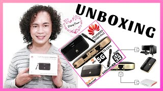 Huawei Mobile WiFi Pro 2 - 5G ( E5885L ) - UNBOXING