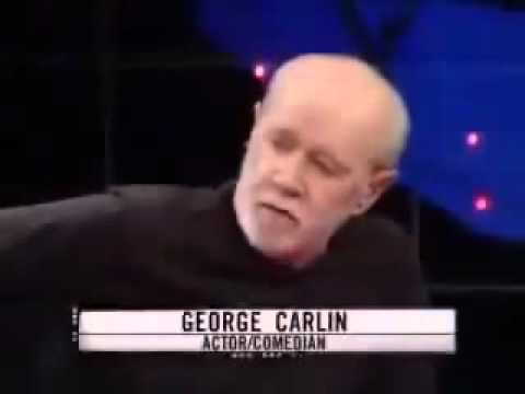 George Carlin the illusion of freedom