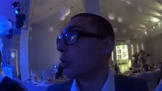 Жесть! пьяный в дрова Рома на свадьбе