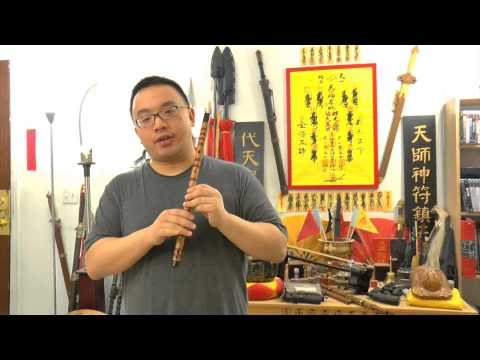 Dizi (Chinese Flute) Lesson - Playing High Pitch Notes, with Beautiful Music!