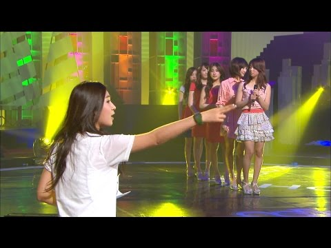 【TVPP】KARA - Honey + Pretty Girl (AD: Kwon Yuri) , 허니 + 프리티 걸 @ Goodbye Stage, Show Music Core Live
