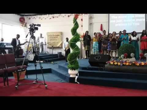 Spirit of Inspiration of Trinity Baptist Church, Accra Ghana...Always byIsaiah Templeton
