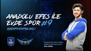 Supplementler Partnerliğinde Anadolu Efes ile Evde Spor #9