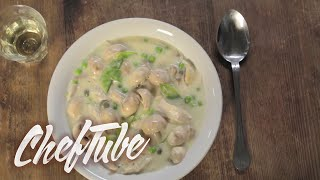 How to make Chicken Fricassee - Recipe in description