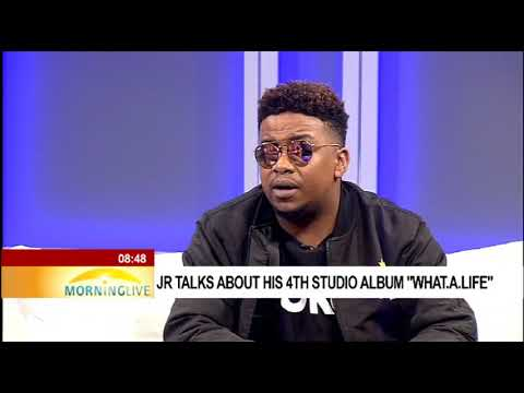 """JR talking about his 4th studio album """"What.A.Life"""" - YouTube"""