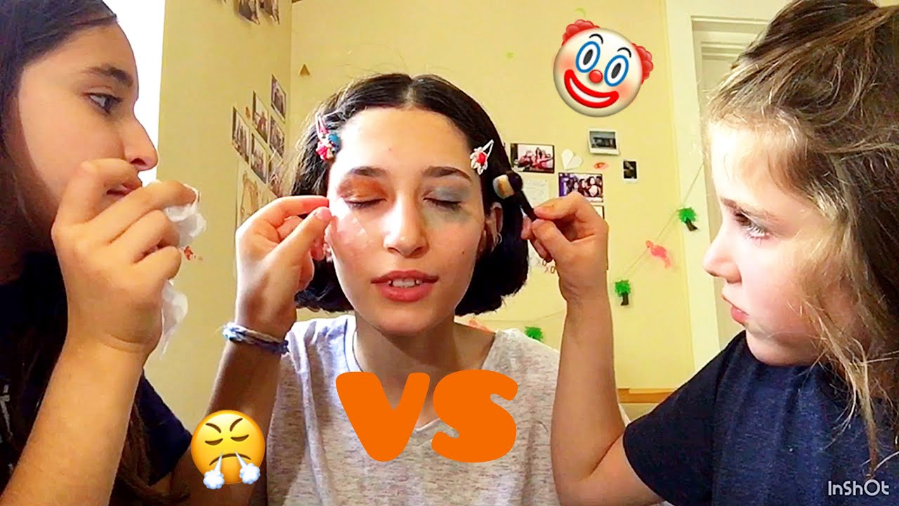 Part one of my sister doing my makeup - YouTube