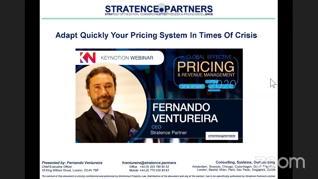 Key Takeaways from our last Webinar: Adapt Quickly Your Pricing System in Times of Crisis