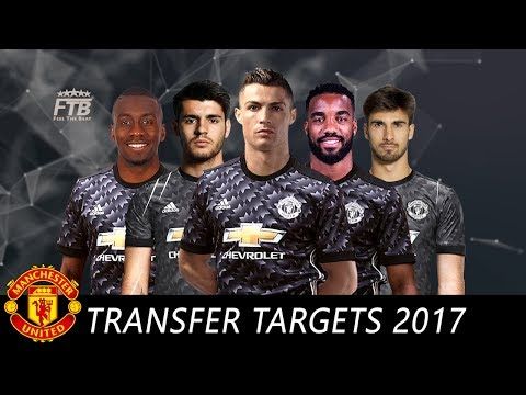 Manchester United - Top 12 Transfer Targets summer 2017