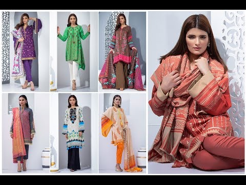 Orient Textile 3 Piece Unstitched Karandi Winter Collection 2018-19