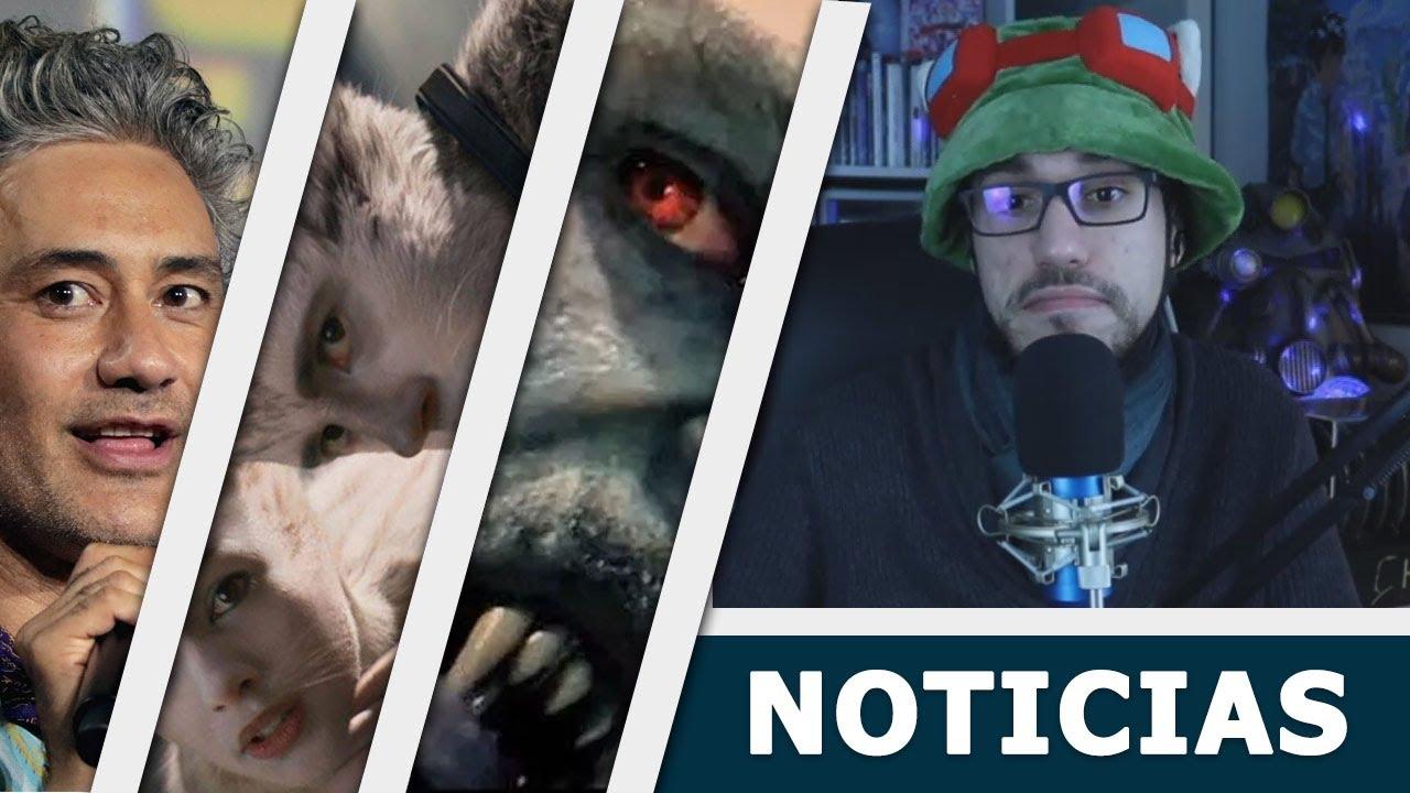 Noticias CINE: ¿Taika Waititi a Star Wars?, Universal NO está bien y trailer de Morbius