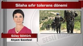 Gülay Göktürk : Silaha sıfır tolerans dönemi