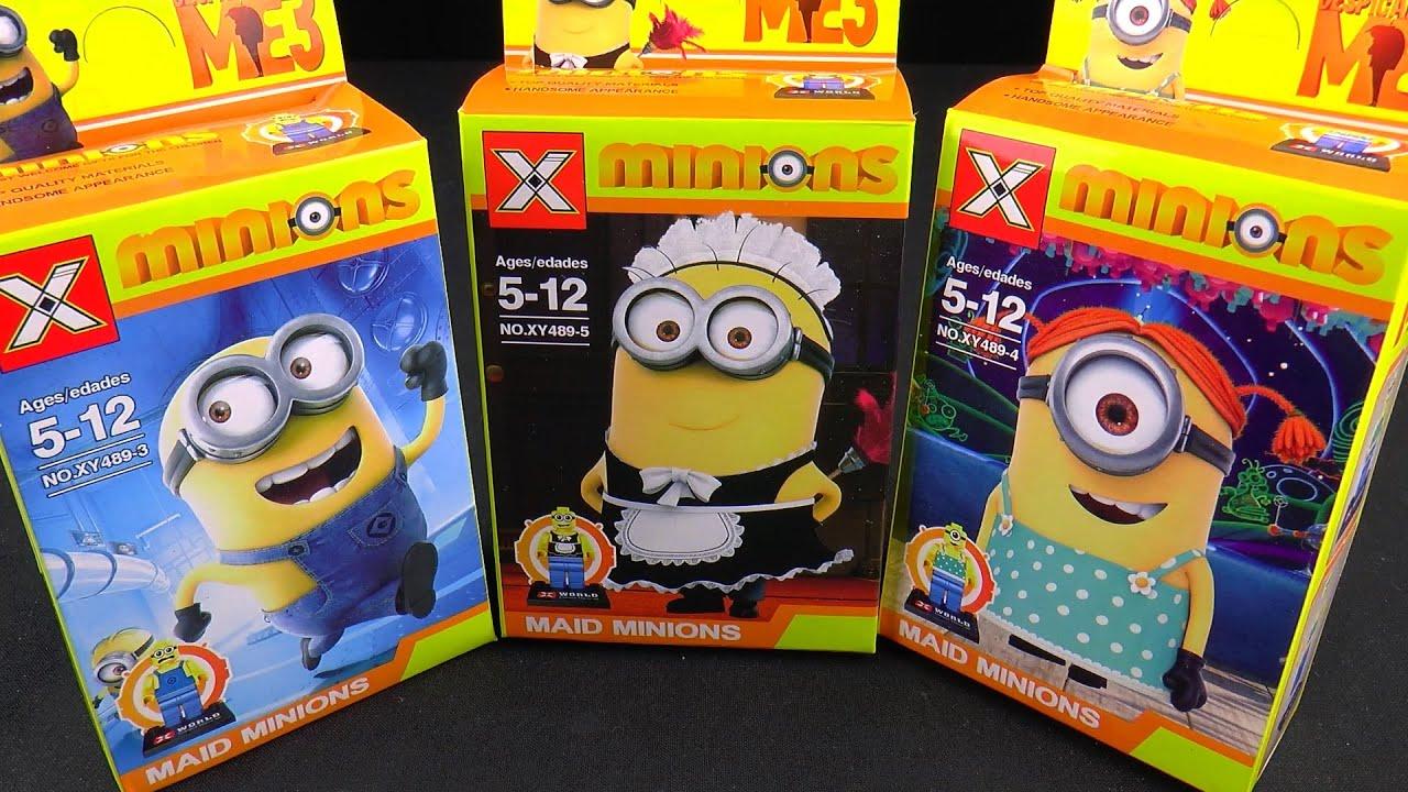 DESPICABLE ME 3 MINIONS LEGO ГАДКИЙ Я МИНЬОНЫ ЛЕГО. Children Fun Factory