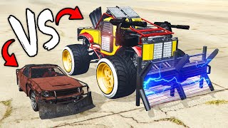 CHEAPEST vs Most EXPENSIVE Vehicle in GTA 5 Arena Wars!