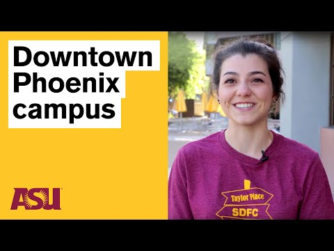 Life at the Downtown Phoenix campus (Arizona State University - ASU)