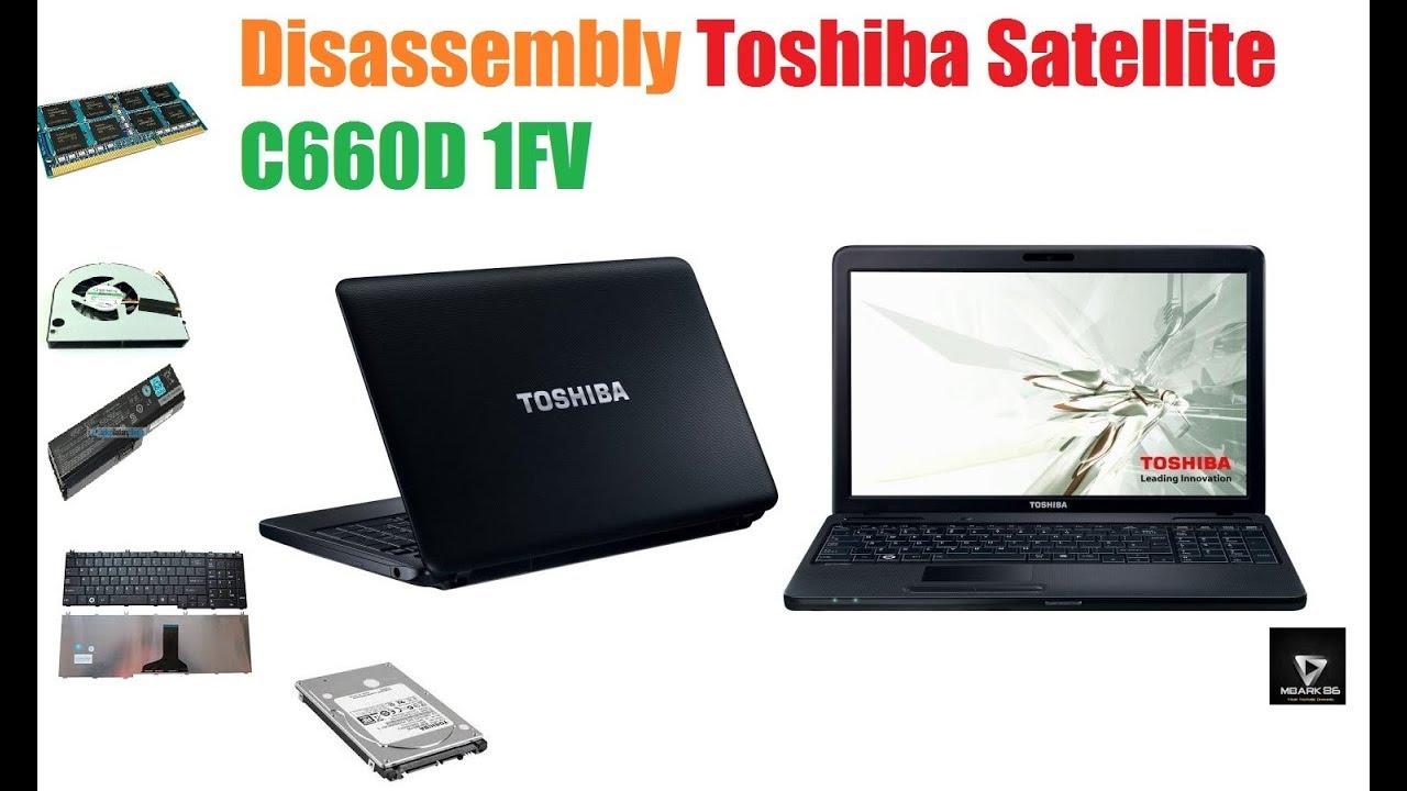 Disassembly Toshiba Satellite C660D 1FV