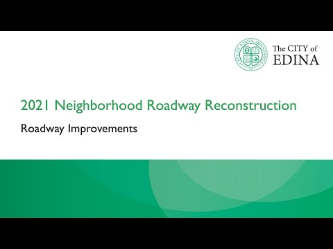 Roadway Improvements