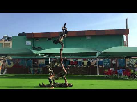 AA009 Ghana Acrobatic 1 act