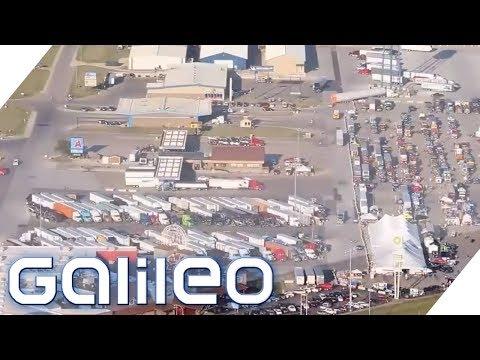 Die größte Tankstelle der Welt | Galileo | ProSieben