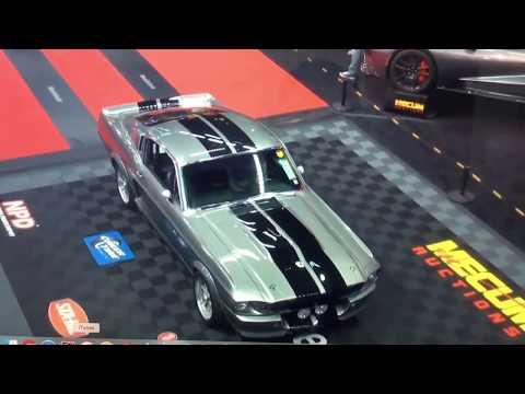 Eleanor Movie Car Sells At Mecum 2020