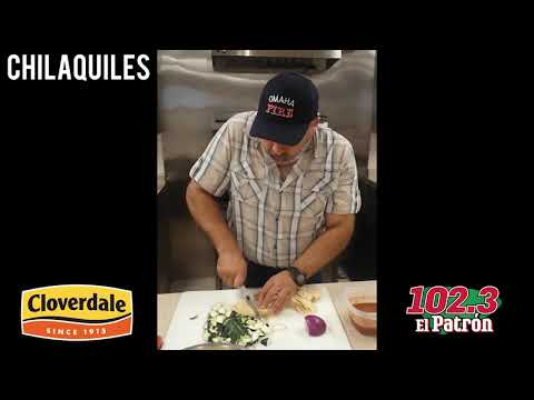El Tapatio - Sergio Robles with 102.3 El Patron Chilaquiles from Cloverdale Food!