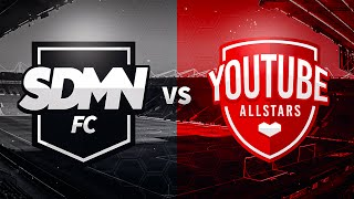 One of Sidemen's most viewed videos: SIDEMEN FC VS YOUTUBE ALLSTARS CHARITY FOOTBALL MATCH LIVESTREAM