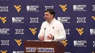 BlueGoldNews.com: WVU Football Neal Brown 02/18/19