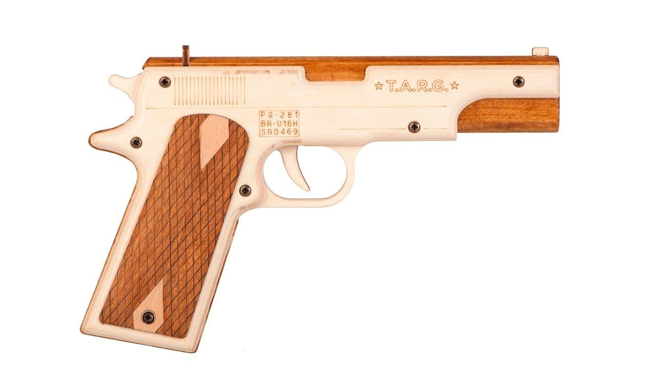 Пистолеты из дерева картинки