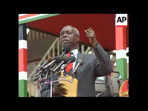 Kenya - Moi Campaigns To Discredit Leakey