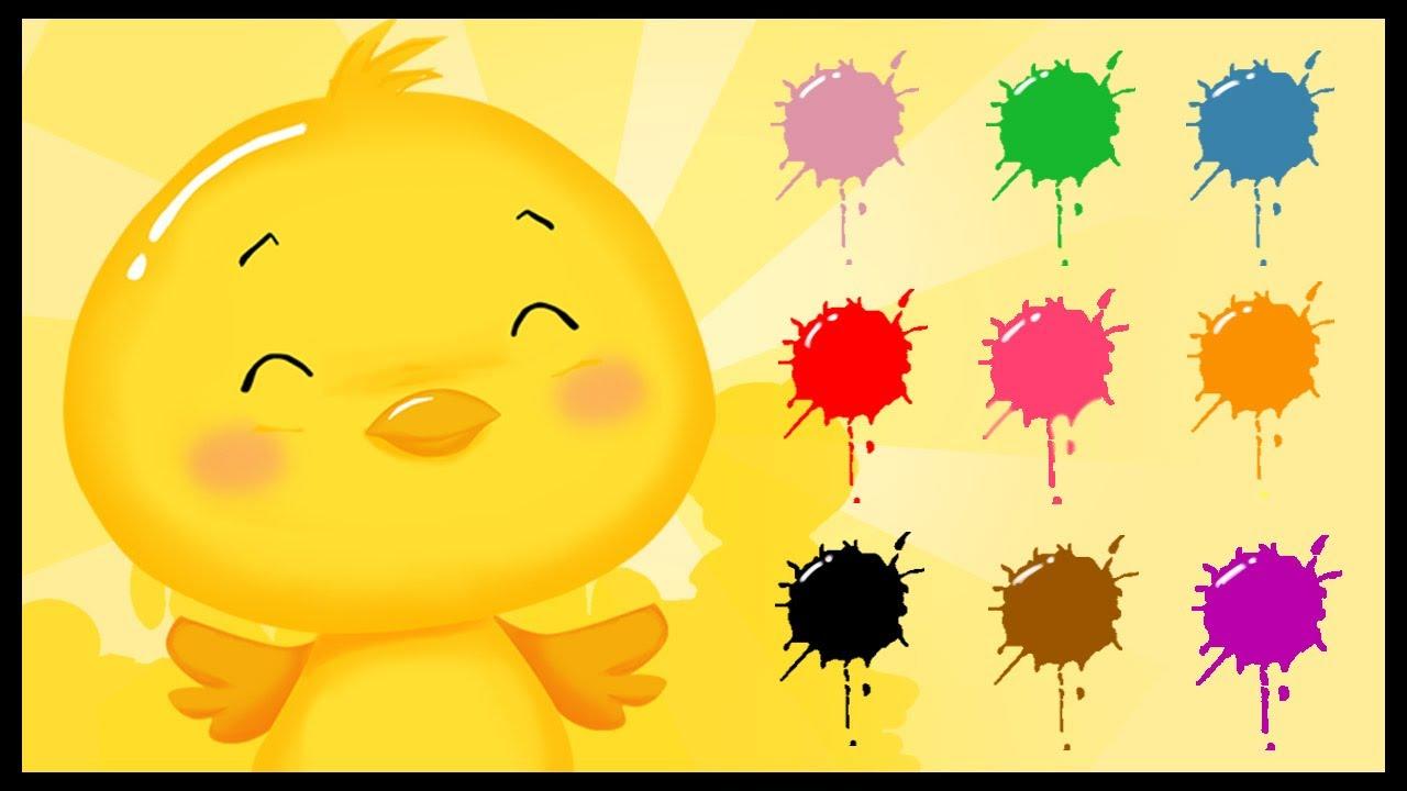 Populaire Apprendre Les couleurs - Les Titounis - YouTube SL74