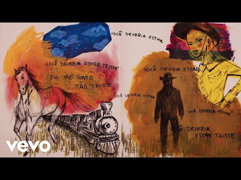 Halsey - You should be sad (Portuguese Lyric Video)