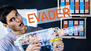 Nerf Modulus Evader - NIE TYLKO ŚWIECI ALE JAK STRZELA! #AWESOME!!! #miódmalina