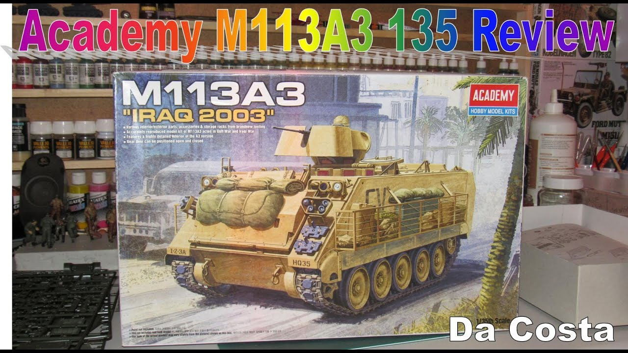 13211 ACADEMY 1//35 M113 IRAQ WAR VERSION
