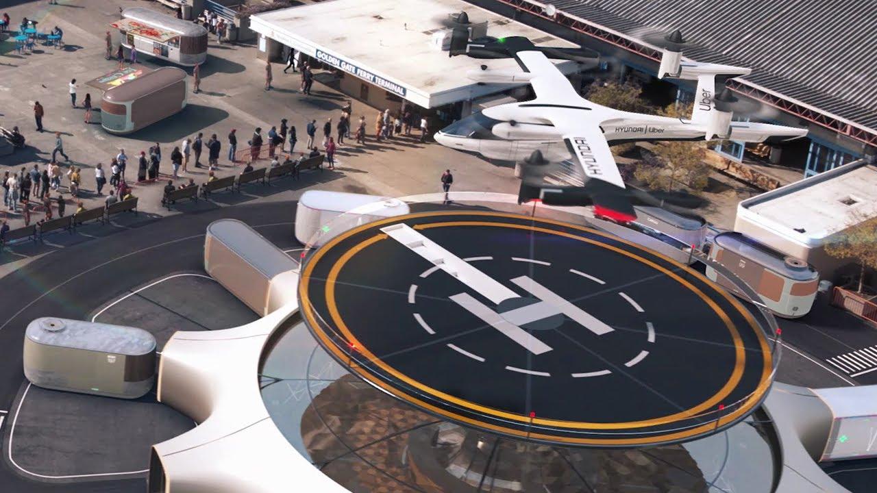 Hyundai's Vision of Urban Air Mobility
